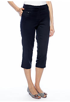 New Directions Coin Pocket Crop Pant