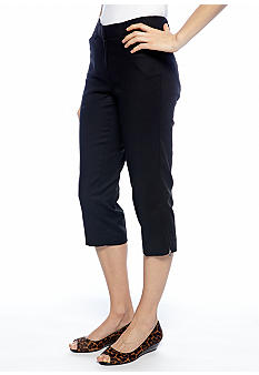 New Directions Zip Leg Crop Pant