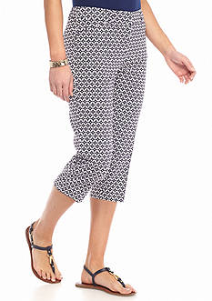 New Directions Petite Millennium Editor Crop Pants