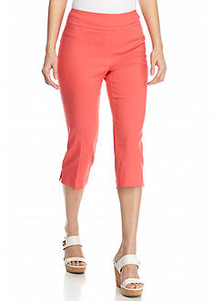 New Directions Petite Millennium Pull-On Crop Pants