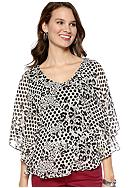 New Directions® Two-Fer blouse