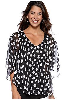 New Directions Two-Fer blouse