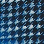 Petite Blouses: Blue New Directions Plaid Split V Henley Top
