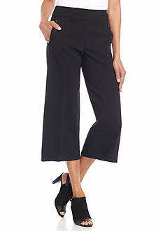 New Directions Millennium Wide Leg Cropped Pants