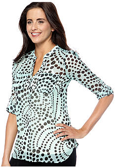 New Directions Dot Blouse
