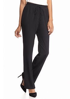 New Directions Solid Drawstring Pants