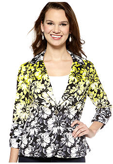 New Directions Floral Jacket