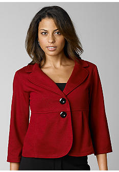 ND New Directions Peplum Jacket - Belk.com