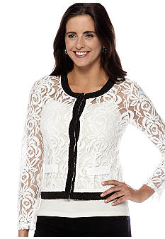 New Directions Lace Jacket