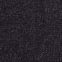 New Directions Petites Sale: Black New Directions Petite Short Sleeve Embellished Eyelash Crew Neck Sweater