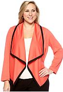 New Directions® Plus Size Color Block Jacket