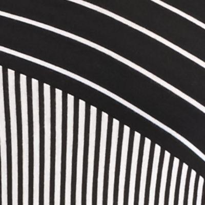 New Directionsâ Women's Plus Sale: Noir Awning New Directions Plus Size Pieced Stripe Top