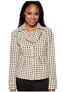 Tulle Polka Dot Coat