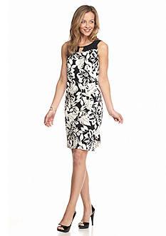 Kim Rogers Floral Swing Dress