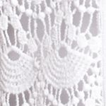Cardigan Sweaters for Women: White Kim Rogers Short Sleeve Crochet Front Cardigan