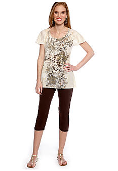 New Directions Tunic and Legging Neutral Combo