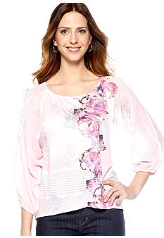 New Directions Dolman Chiffon Sleeve