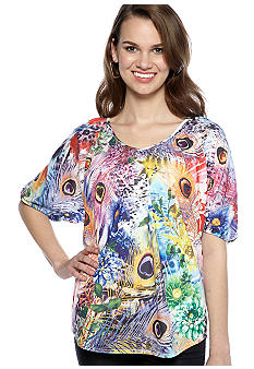 New Directions Twist Back Tee