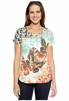 New Directions Butterfly Garden Tee