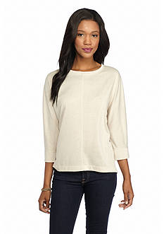 New Directions Weekend Solid Dolman Sleeve Top