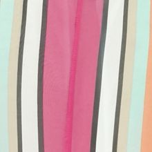 Sleeveless Shirts For Women: Pink New Directions High Side Slit Stripe Duster