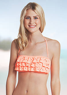 Red Camel Beach Club Solids Bandeau