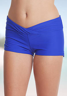 Red Camel Solid Swim Shorts
