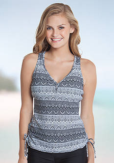 Red Camel Aztec Stamp Tankini
