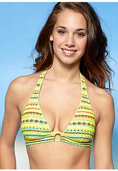 Red Camel Tribal Halter Top
