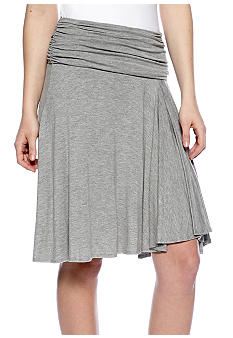 Sophie Max Short Georgette Skirt