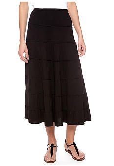 Sophie Max Long Tiered Skirt