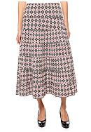 Sophie Max Print Long Tier Skirt