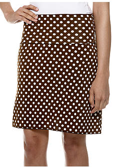 Sophie Max Printed Jersey Fold Over Skirt