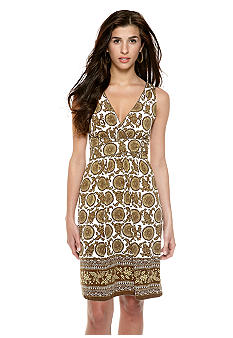 Sophie Max Sleeveless Jersey Empire Waist Dress