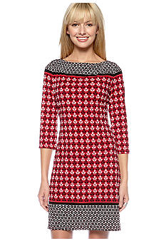 Sophie Max Printed Dress