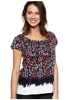Sophie Max Printed Top