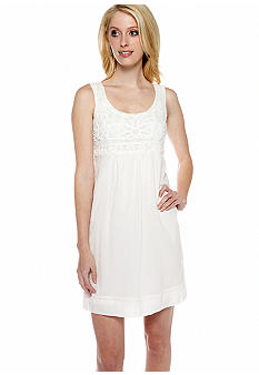Sophie Max Sleeveless Crochet Dress