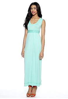 Sophie Max Sleeveless Jersey Maxi Dress