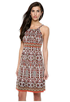 Sophie Max Printed Tank Dress