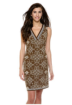 Sophie Max Printed Jersey Dress