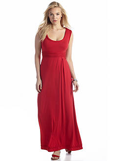 Sophie Max Solid Jersey Maxi Dress