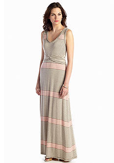Sophie Max Heather Stripe Maxi Dress