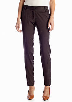Sophie Max Straight Ankle Suit Pant