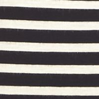 Women: At The Knee Sale: Black/Ruby Sophie Max Striped Pencil Skirt