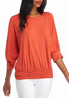 Sophie Max Banded Jersey Top