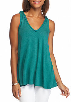 Sophie Max Heathered Knit Tank