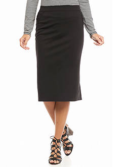 Sophie Max Ponte Pencil Skirt