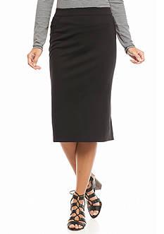 Sophie Max Ponte Pencil Skirt