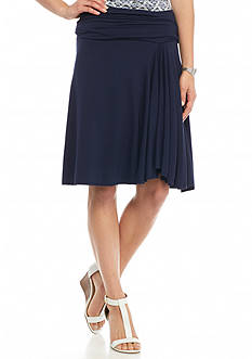 Sophie Max Solid Jersey Skirt