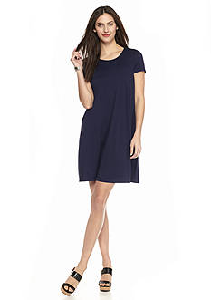 Sophie Max Jersey Knit Swing Dress